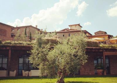 Tuscan Fitness Hotel Garden