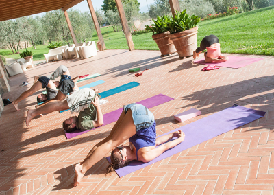 Tuscan Fitness Morning Yoga Class