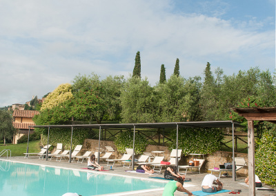 Tuscan Fitness Poolside Yoga