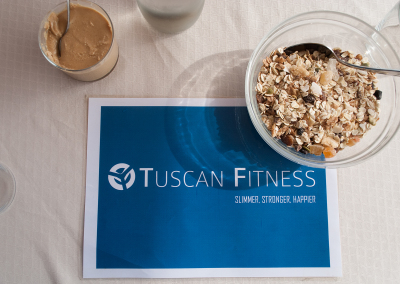 Tuscan Fitness Breakfast Table
