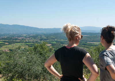 Tuscan Fitness View while Hiking