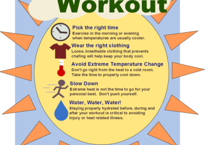 Tips for a summer workout