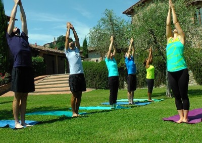 Tuscan Fitness Yoga Outdoors