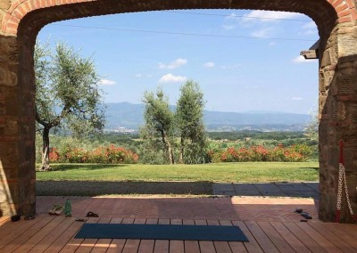 Tuscan Fitness Yoga Deck