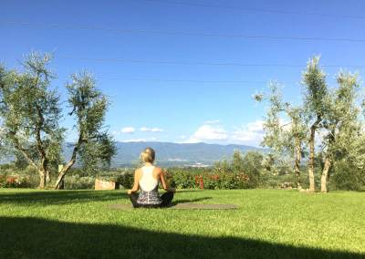 Tuscan Fitness Tranquil Morning View
