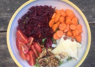 Tuscan Fitness Healthy Salad Bowl