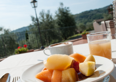 Tuscan Fitness Breakfast View
