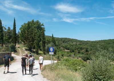 Tuscan Fitness Hiking the Valdambra