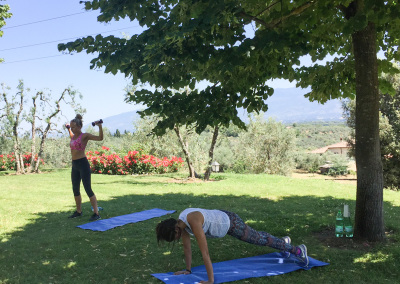 Tuscan Fitness Circuit Training Session
