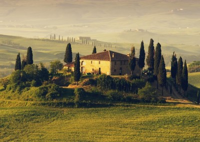 Tuscan Fitness Instagram Repost houses-country-villas-tuscany-landscape-hill-trees-fog-italy-house-fields-nature-wallpaper-hd