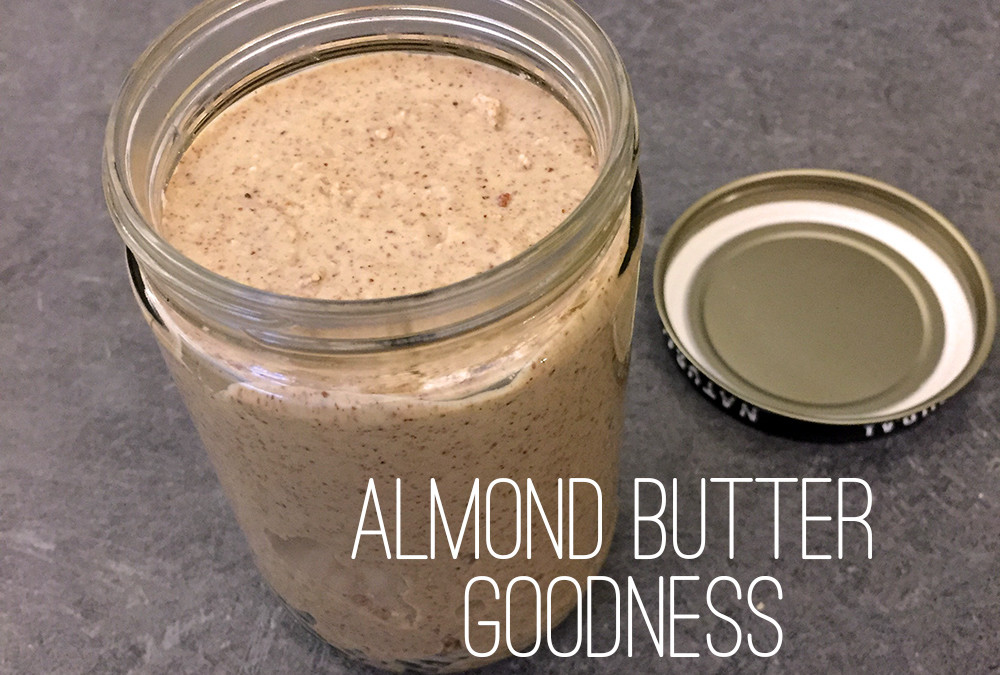 Homemade Maple Almond Butter!