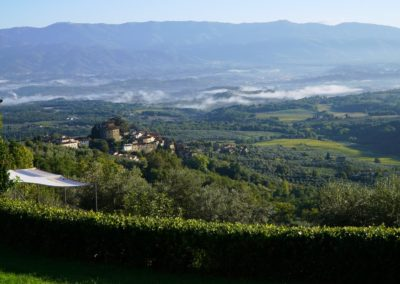 Tuscan Fitness - View from La Forra